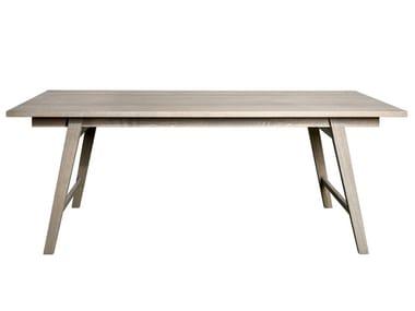 Rechteckiger Tisch aus massivem Holz ZWO 60 | Tisch aus massivem Holz