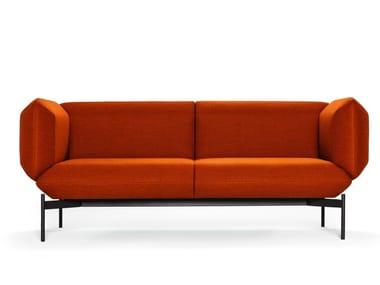 2 seater fabric sofa SEGMENT   2 seater sofa