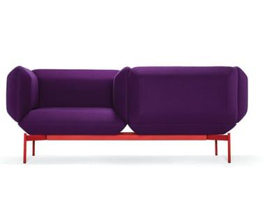 2 seater fabric sofa SEGMENT   Sofa