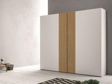 Lacquered wardrobe with sliding doors EMOTION SCORREVOLE 8 - 9
