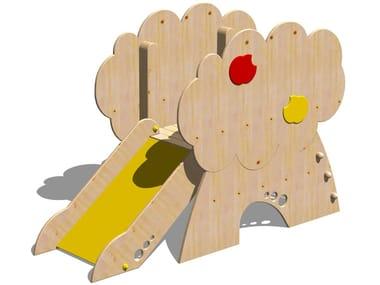 Toboggan en bois TORRE MELO