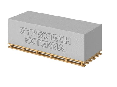 Dry-laid cement and fibre cement sheet GYPSOTECH® EXTERNA