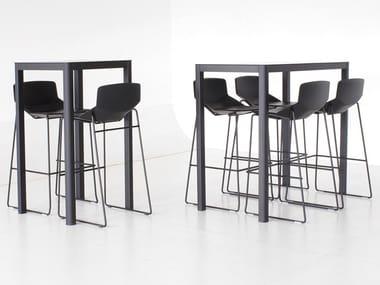 tavolo rettangolare in hpl la table 60x120 tavolo rettangolare