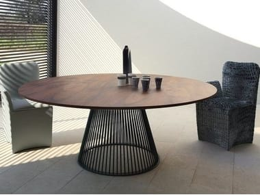 tavoli in vetro   archiproducts - Tavolo Rotondo Moderno Design