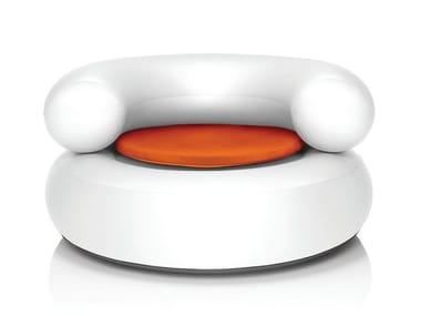 Inflatable PVC armchair CH-AIR WHITE
