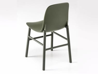Polyurethane chair SHARKY ALU
