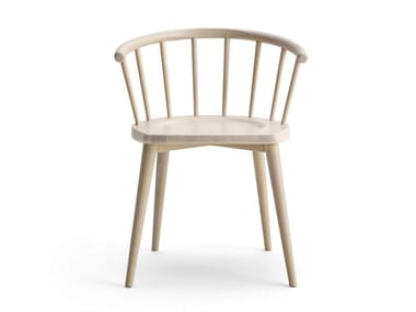 Beech chair with armrests W. | Chair