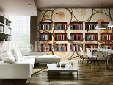 Motif wallpaper NATURAL LIBRARY