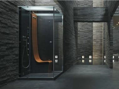 Multifunction rectangular steam shower cabin ΩMEGA
