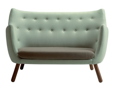 Tufted fabric sofa POET