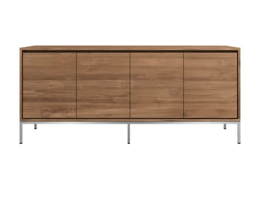 Teak sideboard with doors TEAK ESSENTIAL   Sideboard