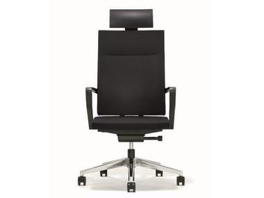 Swivel executive chair with headrest B_RUN   Executive chair with headrest