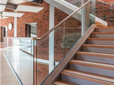 Built-in glass guardrail EASY GLASS