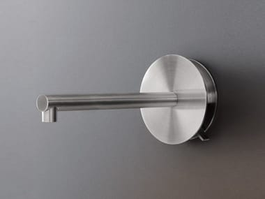 Dual lever wall mounted mixer with spout CIR 02