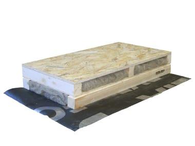 Pannello isolante termo-acustico in lana di pecora per tetti PRONTOMAT 'TETTO SVEZIA'