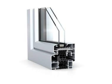 Ventana de aluminio WICLINE 65/75 evo - Classic Design