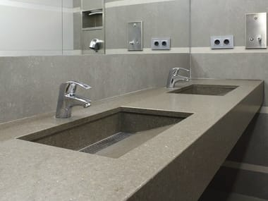 ECO by Cosentino® washbasin countertop ECO BY COSENTINO® | Washbasin countertop