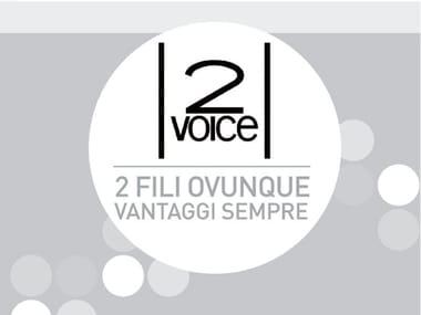 Système d'interphone et portier vidéo 2VOICE