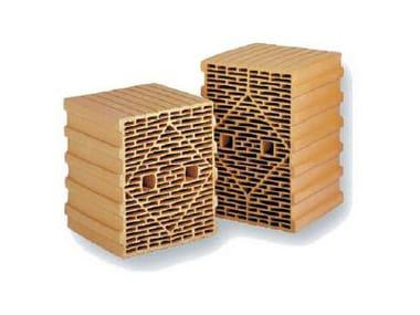 Bloc thermique en terre cuite THERMOPLAN® SX 10