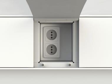 Canal equipado da cocina EASYRACK KITCHEN STEP | Eletrical socket
