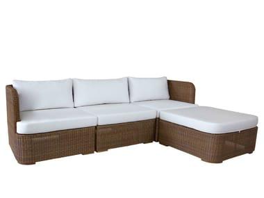 Chaiselongue rattan  TEABU | Sofa By WARISAN