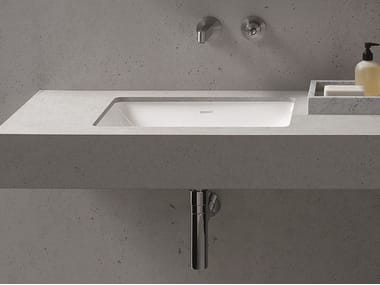 Undermount rectangular washbasin ME | Undermount washbasin