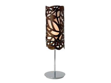 Candeeiro de mesa de latão LEAF | Small lamp
