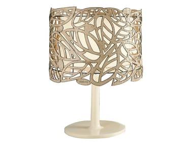 Candeeiro de mesa de cerâmica LEAF | Candeeiro de mesa