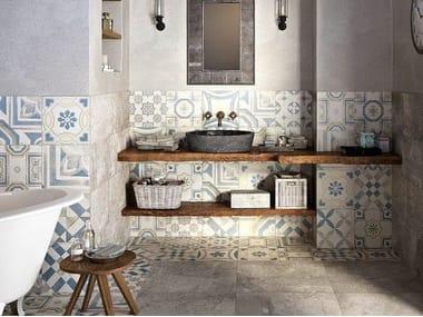 Porcelain stoneware wall/floor tiles CEMENTINE COLOR