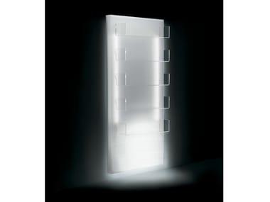 Espositore per saloni di bellezza a parete luminoso GLOWALL DISPLAY