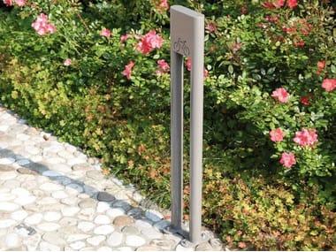 Steel Bicycle rack SILVER | Bicycle rack
