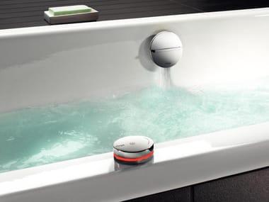 Stainless steel bathtub tap MULTIPLEX TRIO