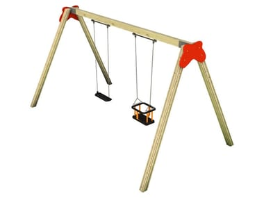 Wooden Seesaw NUVOLA   Double