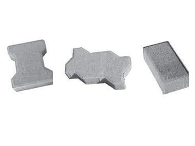 Pavé autobloquant en ciment Pavé autobloquant