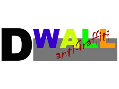 Metal sheet and panel for facade DWALL ANTIGRAFFITI
