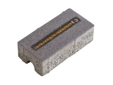 Каменная или бетонная плита для наружных дорожек BETON_LED