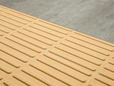 Pavimento tattile in gres porcellanato SAFETY