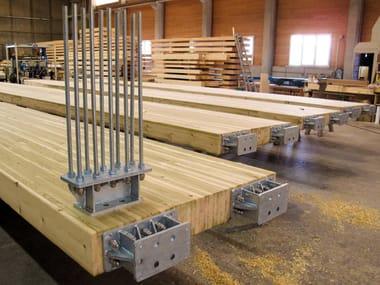 Konstruktionen aus Holz und Leimholz