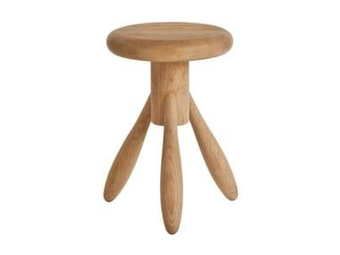 Wooden children's footstool BABY ROCKET