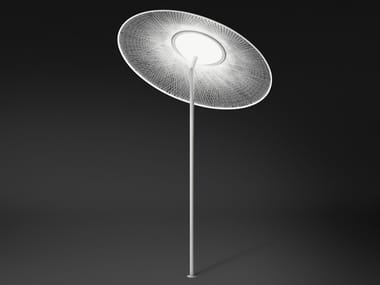 Lampada da terra con parasole WIND