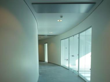 Panneau pour plafonds suspendus parasismique en placo Faux-plafond parasismique