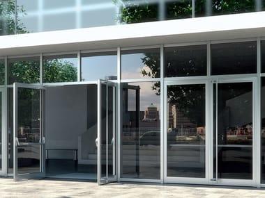 Porta-finestra in alluminio Schüco ADS HD