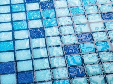 Mosaico de vidrio AQUA