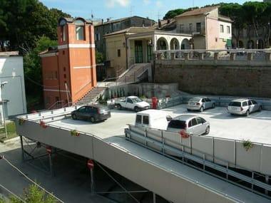 Sistema modulare per aree parcheggio MODULAR PARK