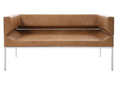 2-er Sofa aus Leder FM | Sofa aus Leder