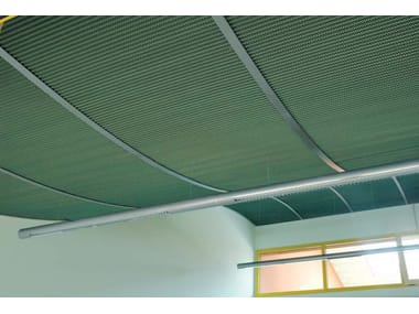 Stretched mesh for facade finish STILTECH