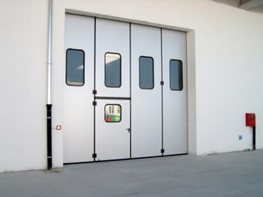 Industrial folding door Industrial folding door