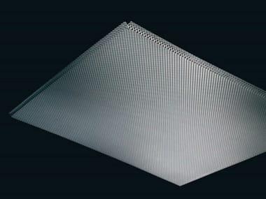 Expanded mesh ceiling tiles Ceiling tiles
