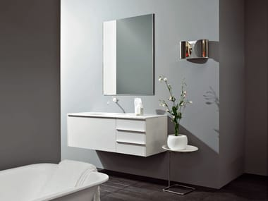 Wall-mounted vanity unit MORPHING UNIT 130
