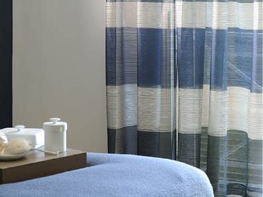Fire retardant polyester fabric for curtains LOUNGE